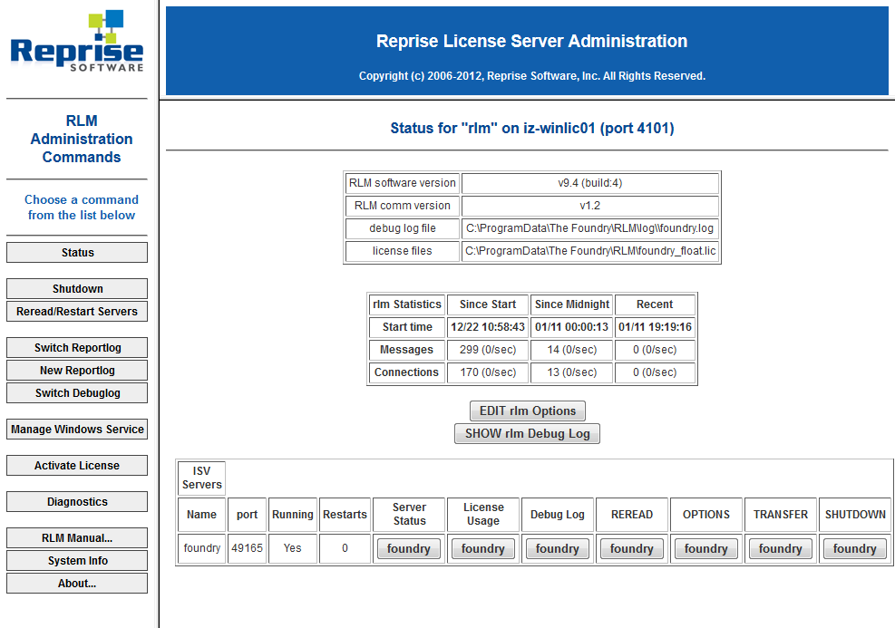 rlm_web_server_status_overview